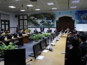 新竹市政府表敬訪問の様子