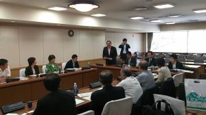 川崎市議会の視察での挨拶